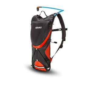 SOURCE Brisk - Mochila bicicleta - 3 Litros rojo/negro